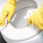 Como limpar banheiros