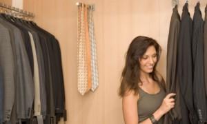 Aprenda como dividir o Guarda-roupa com seu parceiro(a).