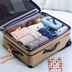 Preparado para viajar? Aprenda como organizar a sua bagagem.