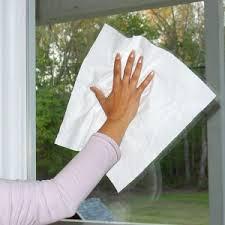 limpando-vidro