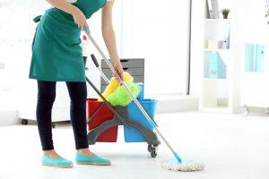 Focos de limpeza em seu lar
